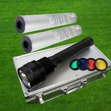8500LM 85W HID Xenon Torch Flashlight Spotlight Light Lamp + 2x 8700mAh battery