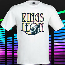 New Kings of Leon Indie Rock Band Men's White t-shirt Size S to 3XL