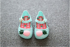 Baby Sandals Infant Jelly Shoes Toddler Cut-outs Slides Newborn Pineapple Shoes