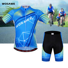 Cycling Bike Short Sleeve Top Shirt Bicycle Sports Jersey Shorts Uniform Outdoor