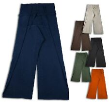 FISHERMAN PANTS INDIA GOA HIPPIE THAI PANTS WRAP PANTS THICK FABRIC COTTON
