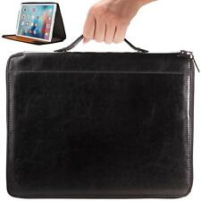 iPad Pro Carry Case Cover Briefcase Style, Kick-Stand, Handle for Easy Carrying