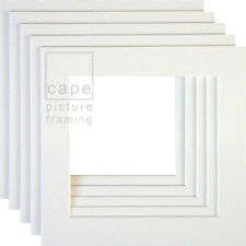 Square Picture Photo Mounts, Pack of 10, White Core, Instagram