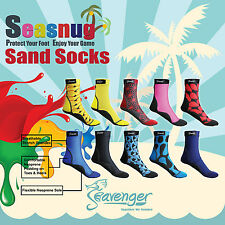 Seasnug Sports Socks. It's a Perfect Fit for Everything on the Sand. Watersports