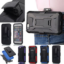 F APPLE iPhone 5 5S SE  Plus Defender Series CASE Cover/ HOLSTER CLIP/Kick Stand