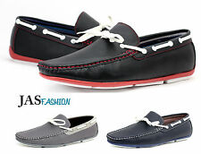 Mens Slip On Boat Deck Casual Driving Shoes Mocassin Loafers Size 6 7 8 9 10 11