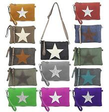 Ladies Star Clutch Strass Fabric Bag Canvas Leather Shoulder Bag Jewelry Blog