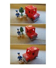 postman pat van and pat with tree and parcel 3 to choose from