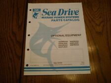 OMC PARTS CATALOG MANUAL  1990 SEA DRIVE OPTIONAL EQUIPMENT