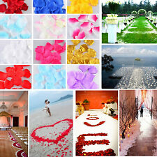 500pcs Rose Petals Wedding Flower Petals Simulation Of Petals Hand And Flower TI