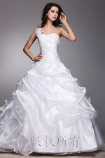 Stock Bridal Gown Prom Ball Deb Evening Wedding Dress Quinceanera Party 6-18