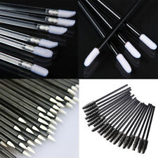 100PCS Disposable Eyelash Brushes Mini Mascara Wands Applicator Makeup 4SP