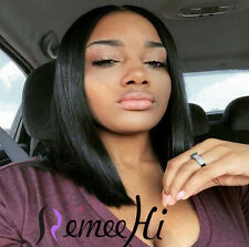 "2016 Queen BOB Short 100% Real Human Remy Hair 12""-20"" Many Color Length"