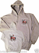 Celebrate 23rd April St.Georges' Day Embroidered & Printed Hoody / Hoodie S-5XL