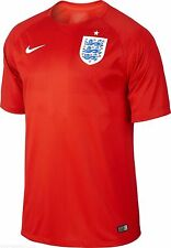 NEW NIKE Men England Away Football Soccer Jersey Red World Cup $90