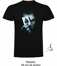BATMAN JOKER T-SHIRT DARK KNIGHT COMIC DC GOTHAM SUPERHERO T-SHIRT SIL CCb011