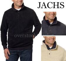 Jachs Mens Cabin Sherpa Fleece Mock Neck Pullover Sweater Pick Color & Size NWT