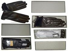 Leather Gloves, Italian Women's Winter Gloves, Dress Gloves, Brand New in Box