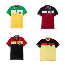 Mens Tommy Hilfiger Short Sleeve Country Polo Shirt USA/Brazil/Germany/Spain SML