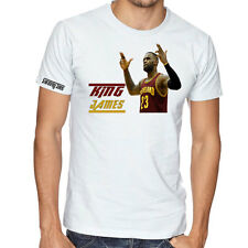Lebron James GOAT T SHIRT King James Cleveland Cavaliers Cavs Swavey Tees