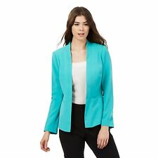 The Collection Womens Turquoise Blazer Jacket From Debenhams