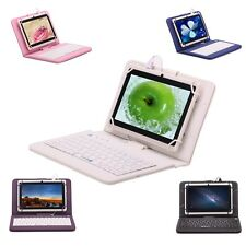 "iRULU 7"" HD Quad Core Android 4.4 16GB Tablet PC Dual Cam Toy+ Keyboard Gift US"