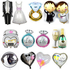Just Married Car Wedding Bridal Shower Engagement Party Decoration Foil Balloons