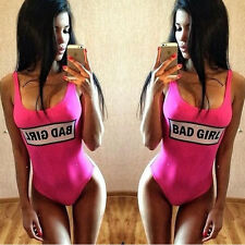 Sexy Women Dope Swimwear One-Piece Monokini Bikini Swimsuit Backless Beach Suit