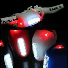 Economic wholesale high quality 4colors bike bicycle 7 LED silicon warning light