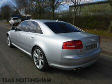 2008 Audi S8 5.2 FSI Auto Quattro Silver Damaged Salvage CAT D