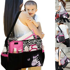 3Pcs Multifunction Baby Diaper Nappy Mummy Feeding Handbag Tote Shoulder Bags