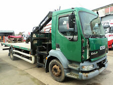 2002 Daf LF 55-180TI 15 Ton Day Cab Atlas 3008 Crane, WILL BREAK