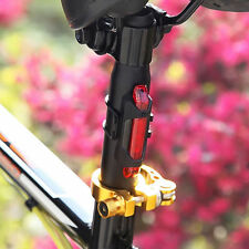 5 LED USB New Rechargeable Bicycle Cycling Tail Rear Safety Warning Light Lamp