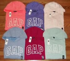 NEW NWT Womens GAP Logo Pullover Hooded Sweatshirt Hoodie 6 Colors to Choose