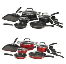 T-fal Signature Nonstick Thermo-Spot Heat Indicator Cookware Set 12-Piece