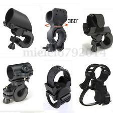 Bike Cycle Bicycle Light Front Clip Mount Flashlight Clamp Holder Bracket 7 TYPE