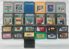JUEGOS GAME BOY COLOR ADVANCE SP POKEMON YU GI OH RAYMAN TEKKEN ENVÍO GRATIS.