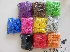 100*12mm Poultry Leg Band Bird Pigeon Chicks clip open Numbered 1-100 snap ring