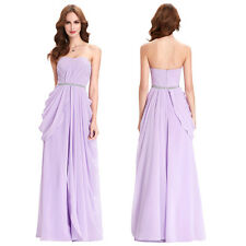 Strapless Sexy long Prom Evening Graduation Party dress homecoming Cocktail Gown