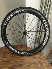 Mavic Cosmic SL carbon clincher wheelset shimano 10/11sp Perfect Condition Pair