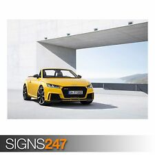 2017 AUDI TT RS ROADSTER (9001) Car Poster -  Photo Poster Print Art * All Sizes