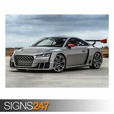 AUDI TT COUPE CONCEPT (9105) Poster Print Art A1 A2 A3 - 2nd POSTER 50% OFF!