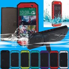Colorful Waterproof Water Shock Dirt Dust Proof Case Cover For HTC One M8