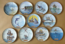 DANBURY MINT Humorous Gone Fishing Collector Plates (Individually Priced)