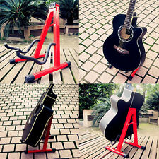 Guitars Universal Folding A-Frame Electric Acoustic Guitar Floor Stand Holder