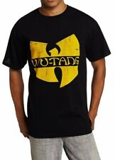 WU-TANG CLAN CLASSIC LOGO GZA-RZA-ODB T-Shirt NWT Authentic & Official