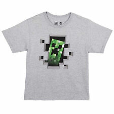 Minecraft Creeper Inside Youth Tee Shirt NEW Toys Video Game Kids T Shirts