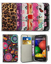 Print Pattern Flip Leather Wallet Case Cover For Nokia Lumia 730 Mobile Phone