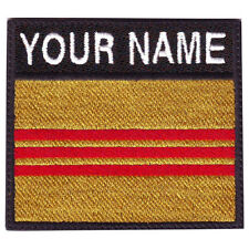 SOUTH VIETNAM BADGE CUSTOM FLAG EMBROIDERED PATCH