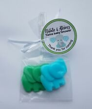 Elephant Soap Baby Shower Favors Personalized Tags Party Jungle or Zoo Theme 20